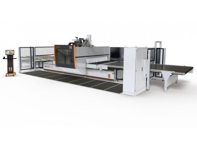Nesting CNC Dynestic 7535 automatic