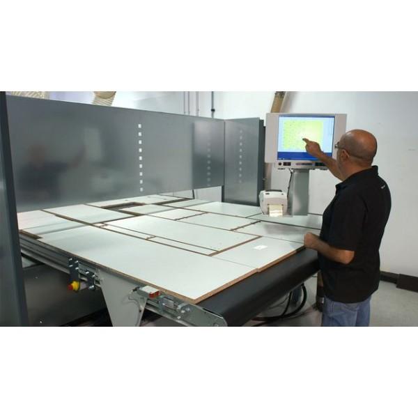 Nesting CNC Dynestic 7507 push